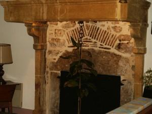 la cheminée intérieure